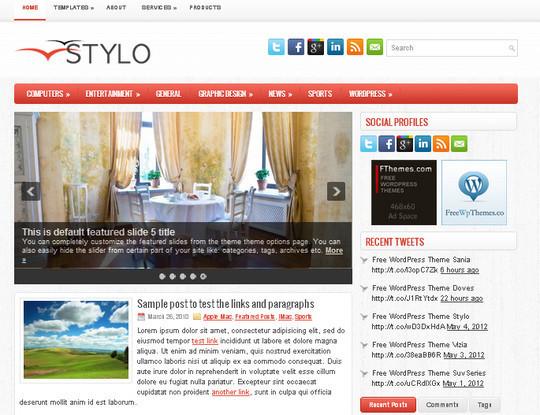 40+ Free Premium Quality WordPress Themes For Your Blog 24