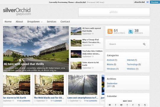 40+ Free Premium Quality WordPress Themes For Your Blog 28