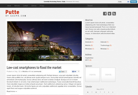 40+ Free Premium Quality WordPress Themes For Your Blog 29