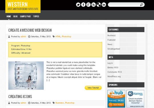 40+ Free Premium Quality WordPress Themes For Your Blog 31