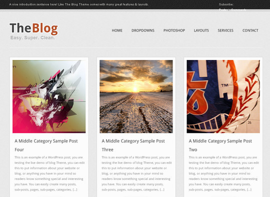 40+ Free Premium Quality WordPress Themes For Your Blog 33