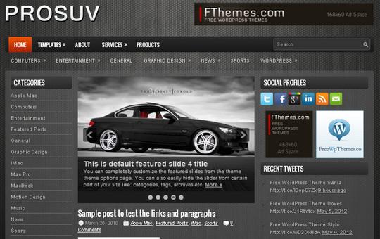 40+ Free Premium Quality WordPress Themes For Your Blog 34