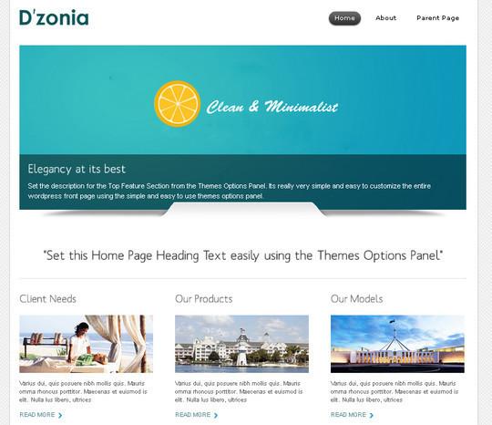 40+ Free Premium Quality WordPress Themes For Your Blog 39