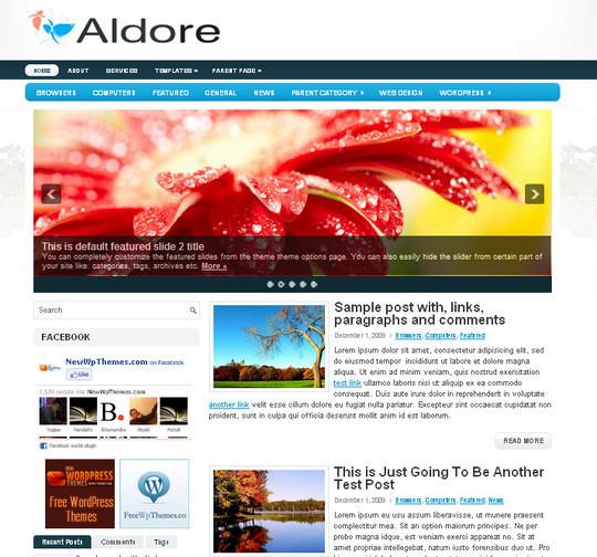 40+ Free Premium Quality WordPress Themes For Your Blog 41