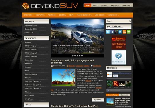 40+ Free Premium Quality WordPress Themes For Your Blog 13