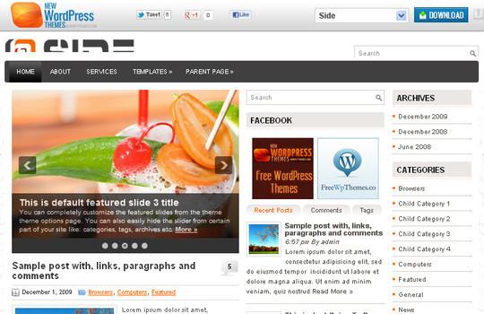 40+ Free Premium Quality WordPress Themes For Your Blog 45