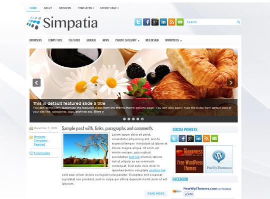 40+ Free Premium Quality WordPress Themes For Your Blog 14
