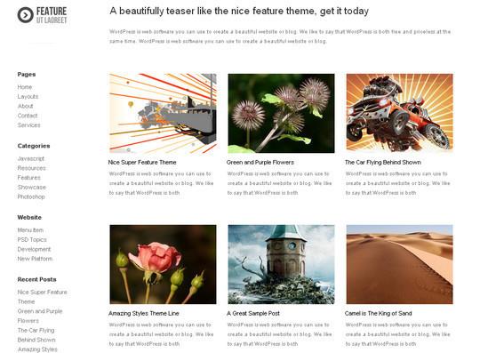 40+ Free Premium Quality WordPress Themes For Your Blog 16