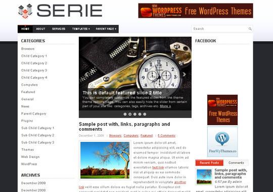 40+ Free Premium Quality WordPress Themes For Your Blog 18