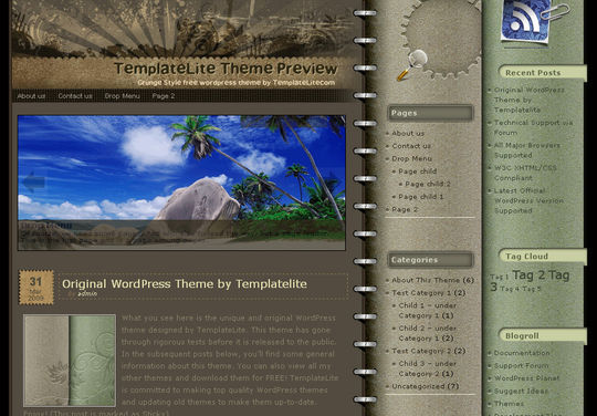 40 Excellent 3 Column WordPress Themes For Free Download 2