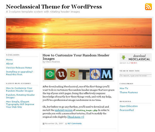 40 Excellent 3 Column WordPress Themes For Free Download 21