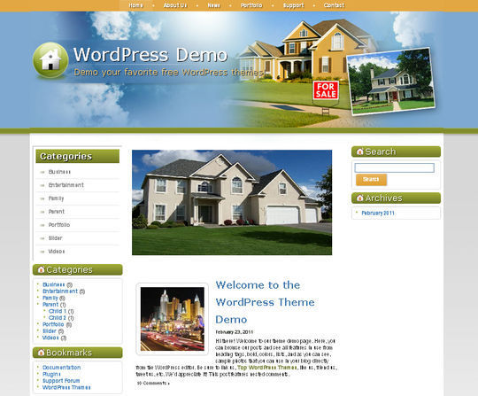 40 Excellent 3 Column WordPress Themes For Free Download 24