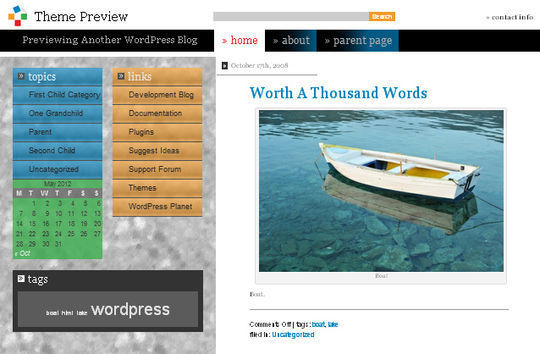 40 Excellent 3 Column WordPress Themes For Free Download 35