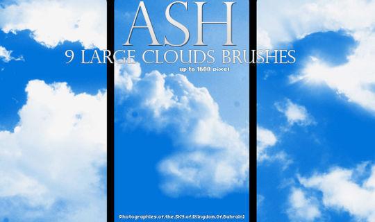 18 Free Cloud Photoshop Brushes 5