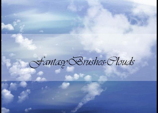 18 Free Cloud Photoshop Brushes 18