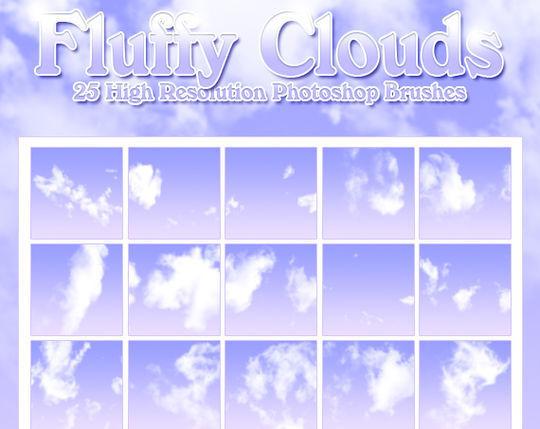 18 Free Cloud Photoshop Brushes 7