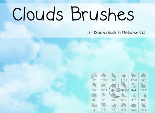 18 Free Cloud Photoshop Brushes 19