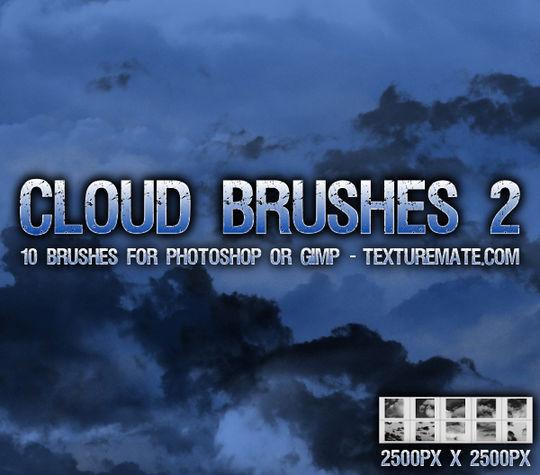18 Free Cloud Photoshop Brushes 3