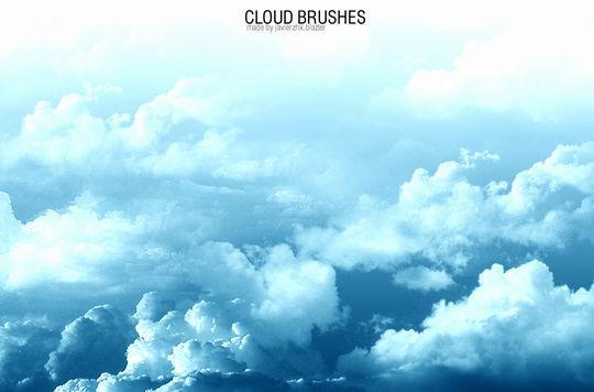 18 Free Cloud Photoshop Brushes 11