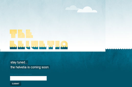 """15 """"Coming Soon"""" Page Designs With Cool Illustrated Background 14"""