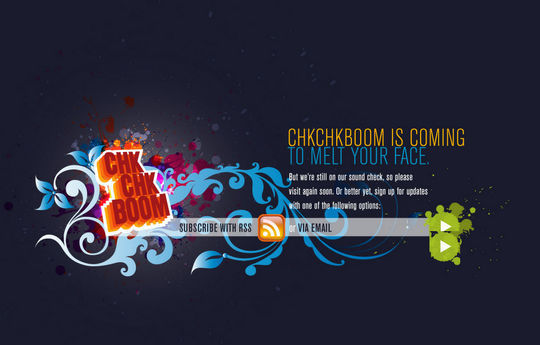 """15 """"Coming Soon"""" Page Designs With Cool Illustrated Background 11"""