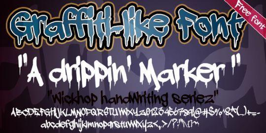 20 Free And Eye-Catching Graffiti Fonts 15