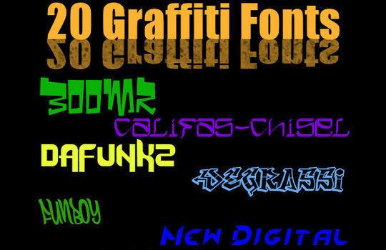 20 Free And Eye-Catching Graffiti Fonts 17