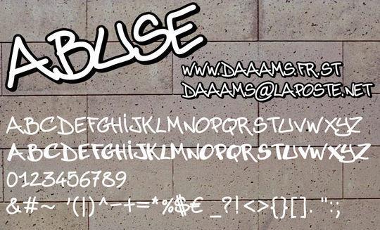 20 Free And Eye-Catching Graffiti Fonts 20