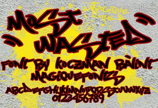 20 Free And Eye-Catching Graffiti Fonts 6