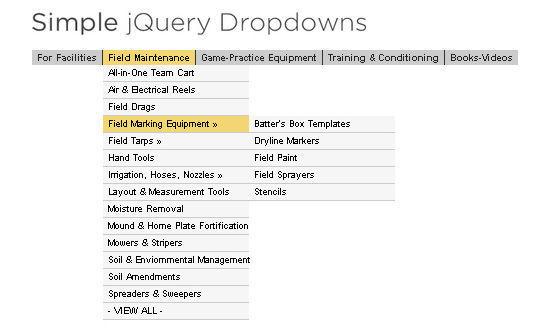 40+ Powerful jQuery Navigation Plugins And Tutorials 13