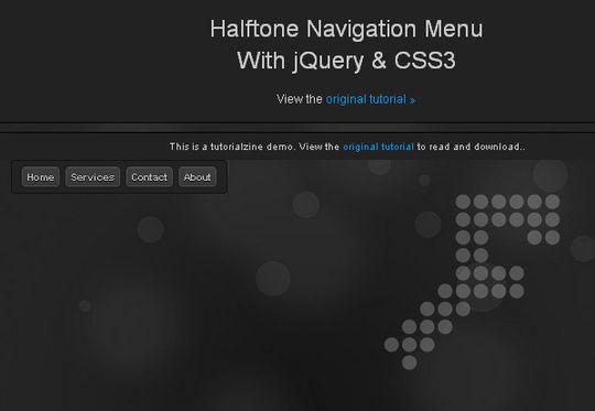 40+ Powerful jQuery Navigation Plugins And Tutorials 4