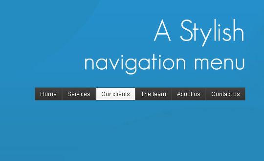 40+ Powerful jQuery Navigation Plugins And Tutorials 1