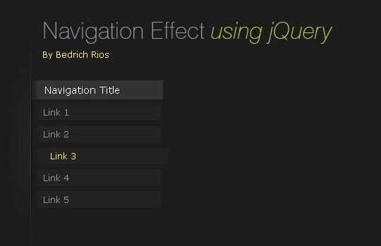 40+ Powerful jQuery Navigation Plugins And Tutorials 36