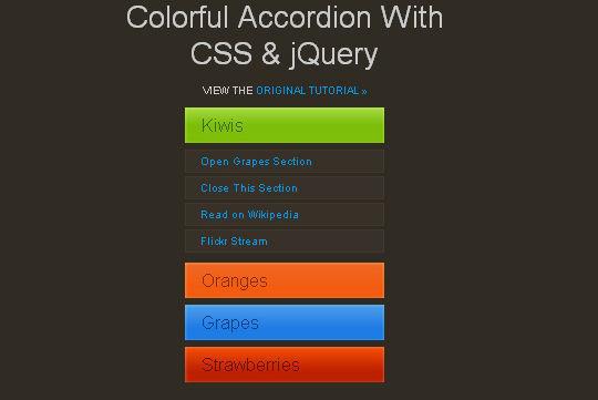 40+ Powerful jQuery Navigation Plugins And Tutorials 2