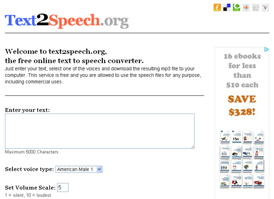 12 Free Online Services And Tools For Text-To-Speech Conversion 1