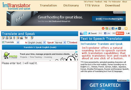12 Free Online Services And Tools For Text-To-Speech Conversion 6