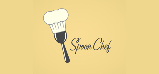 Stunning Collection Of Spoon, Fork And Knife Inspired Logo Design 23