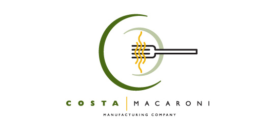 Stunning Collection Of Spoon, Fork And Knife Inspired Logo Design 10