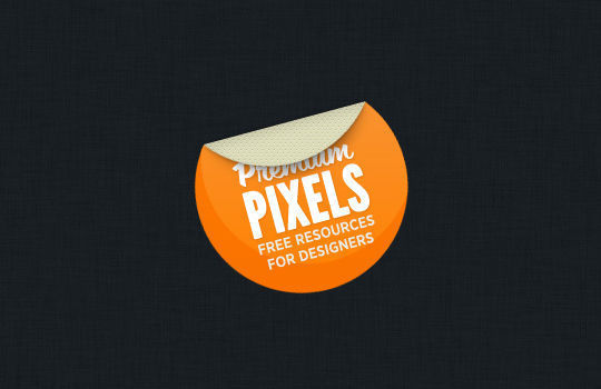 40 Beautifully Designed Stickers, Tags And Badges In PSD Files 19