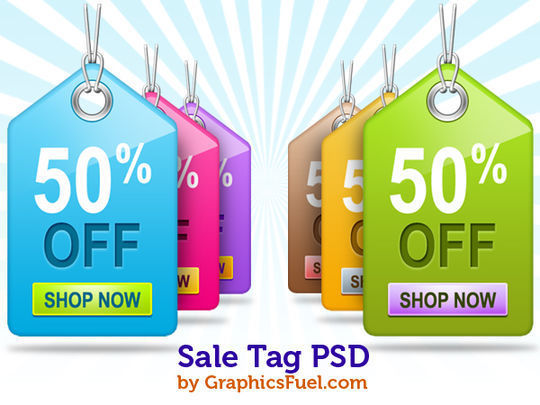 40 Beautifully Designed Stickers, Tags And Badges In PSD Files 6