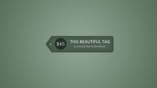 40 Beautifully Designed Stickers, Tags And Badges In PSD Files 32