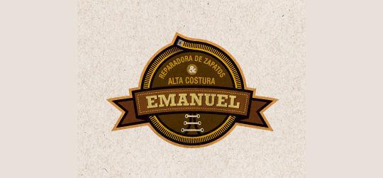 45 Elegant Collection Of Emblems & Badges Logo Design 23