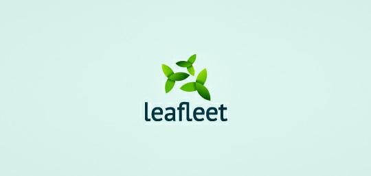 50 Cleverly Designed Leaf Logo Designs For Your Inspiration 27
