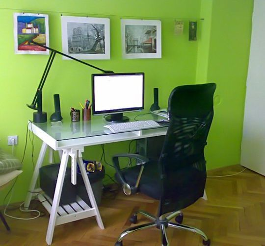 40 Inspirational Freelance Workspaces And Offices For Designer 22