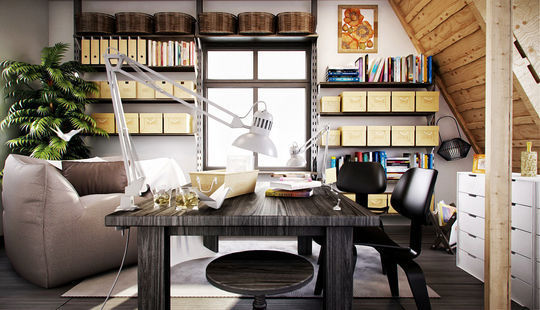 40 Inspirational Freelance Workspaces And Offices For Designer 34