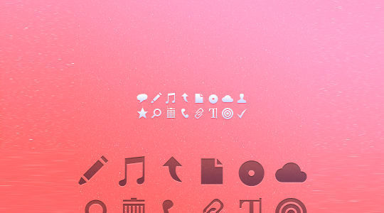 40 Symbols, Signs, Glyph And Simple Icon Sets For Your Design 16