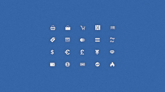 40 Symbols, Signs, Glyph And Simple Icon Sets For Your Design 21