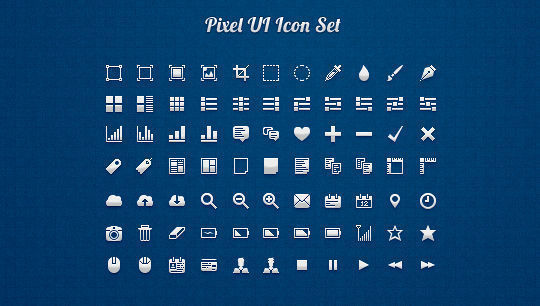 40 Symbols, Signs, Glyph And Simple Icon Sets For Your Design 28