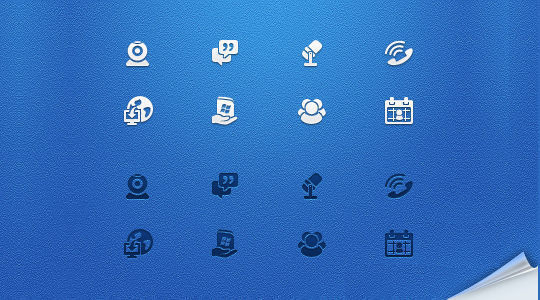 40 Symbols, Signs, Glyph And Simple Icon Sets For Your Design 33