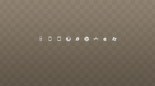40 Symbols, Signs, Glyph And Simple Icon Sets For Your Design 34
